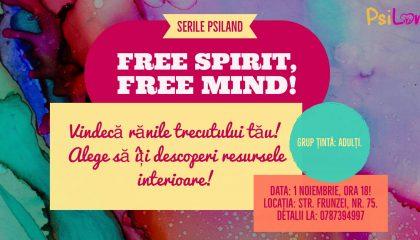 Modul de dezvoltare personală: Free spirit, free mind!