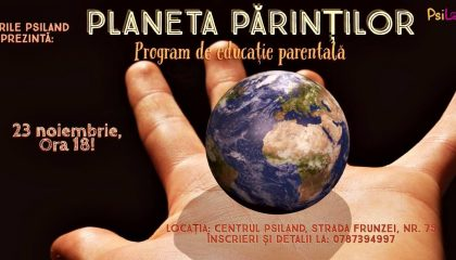 Planeta Parintilor – program de educatie parentala